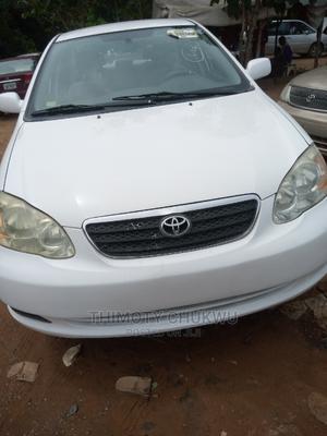 Toyota Corolla 2006 White   Cars for sale in Abuja (FCT) State, Gaduwa