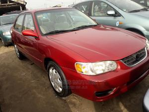 Toyota Corolla 2000 Red   Cars for sale in Lagos State, Apapa