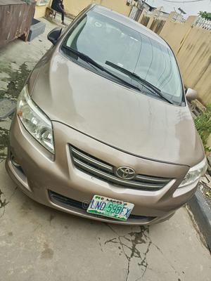Toyota Corolla 2010 Gold   Cars for sale in Lagos State, Surulere