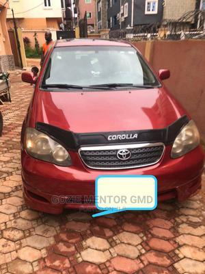 Toyota Corolla 2006 1.4 VVT-i Limousine Red   Cars for sale in Enugu State, Enugu