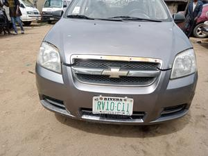 Chevrolet Aveo 2008 1.4 LT Gray   Cars for sale in Rivers State, Oyigbo