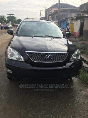 Lexus RX 2007 350 4x4 Black | Cars for sale in Lagos State, Yaba