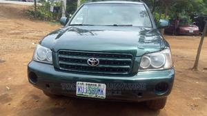 Toyota Highlander 2003 Green   Cars for sale in Abuja (FCT) State, Gwarinpa