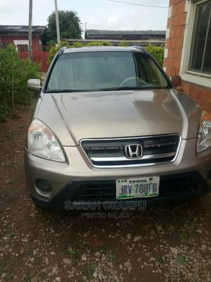 Honda CR-V 2005 Automatic Gold | Cars for sale in Abuja (FCT) State, Kubwa