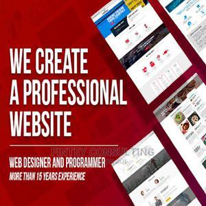 Website Designer ( Professional Website Design ) | Computer & IT Services for sale in Lagos State, Ikeja