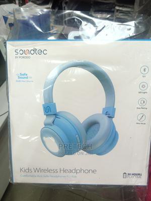 Soundtec Kids Wireless Headphones by PORODO | Headphones for sale in Lagos State, Ikeja