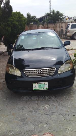 Toyota Corolla 2005 LE Black   Cars for sale in Lagos State, Ibeju