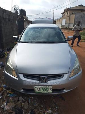 Honda Accord 2005 Automatic Silver | Cars for sale in Lagos State, Ikorodu