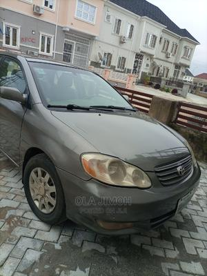 Toyota Corolla 2003 Sedan Automatic Gray   Cars for sale in Abuja (FCT) State, Katampe