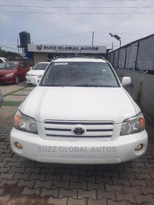 Toyota Highlander 2004 Limited V6 4x4 White | Cars for sale in Lagos State, Lekki