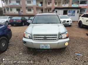 Toyota Highlander 2004 V6 AWD Silver | Cars for sale in Abuja (FCT) State, Gwarinpa