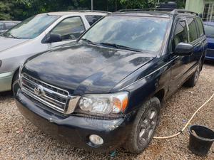 Toyota Highlander 2003 Limited V6 FWD Black | Cars for sale in Abuja (FCT) State, Katampe
