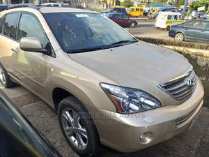Lexus RX 2008 400h AWD Gold   Cars for sale in Lagos State, Ikeja