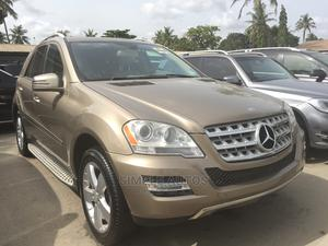 Mercedes-Benz M Class 2011 ML 350 4Matic Gold   Cars for sale in Lagos State, Apapa