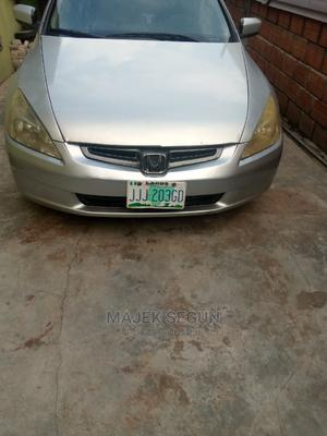 Honda Accord 2003 Automatic Silver | Cars for sale in Lagos State, Yaba