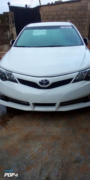 Toyota Camry 2012 White | Cars for sale in Lagos State, Ifako-Ijaiye