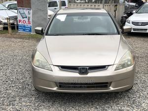 Honda Accord 2003 Automatic Gold   Cars for sale in Abuja (FCT) State, Jahi
