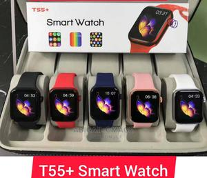 T55 Smart Watch+ Series 6   Smart Watches & Trackers for sale in Lagos State, Ogba