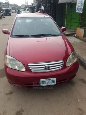 Toyota Corolla 2004 Red   Cars for sale in Lagos State, Yaba
