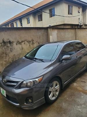 Toyota Corolla 2013 Gray | Cars for sale in Lagos State, Alimosho