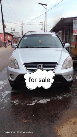 Honda CR-V 2004 2.0i ES Automatic Silver | Cars for sale in Lagos State, Surulere