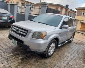 Honda Pilot 2006 EX 4x2 (3.5L 6cyl 5A) Silver   Cars for sale in Lagos State, Ikeja
