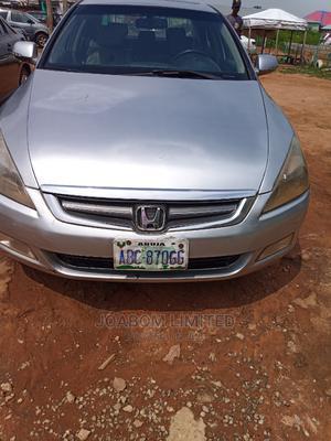 Honda Accord 2006 Sedan EX Automatic Silver   Cars for sale in Abuja (FCT) State, Jabi