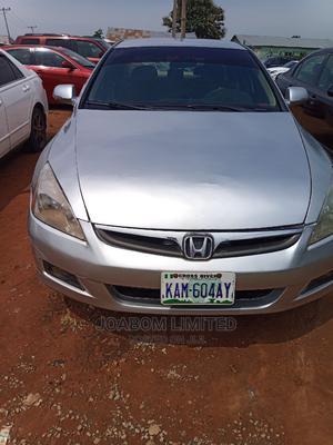 Honda Accord 2007 Sedan EX-L Automatic Silver   Cars for sale in Abuja (FCT) State, Jabi
