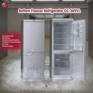 LG 227ltrs Double Door Refrigerator + Bottom Freezer 269VL   Kitchen Appliances for sale in Lagos State, Ojo
