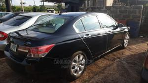 Honda Accord 2009 Sedan EX-L V6 Automatic Black | Cars for sale in Enugu State, Enugu
