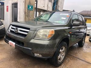 Honda Pilot 2007 EX 4x2 (3.5L 6cyl 5A) Green | Cars for sale in Lagos State, Ogba