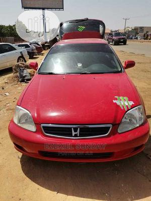 Honda Civic 2000 DX 2dr Hatchback Red   Cars for sale in Bauchi State, Bauchi LGA