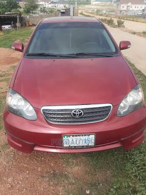 Toyota Corolla 2007 S Red | Cars for sale in Abuja (FCT) State, Kubwa