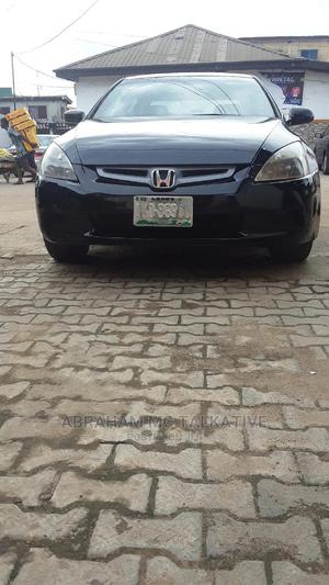 Honda Accord 2005 2.0 Comfort Automatic Black   Cars for sale in Lagos State, Ikeja