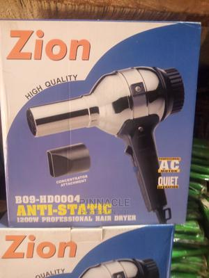 Zion Anti-Static Hair Dryer   Tools & Accessories for sale in Abuja (FCT) State, Wuse
