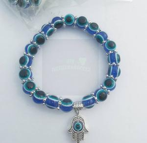 Fortified Blue Eyes Bracelet With 5 Hands of Hamsa for Favor   Sexual Wellness for sale in Abuja (FCT) State, Apo District