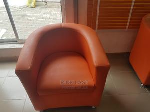 Sofa Orange Colour   Furniture for sale in Lagos State, Lekki