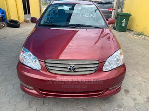 Toyota Corolla 2003 Sedan Automatic Red   Cars for sale in Lagos State, Amuwo-Odofin