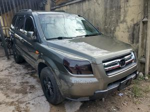 Honda Pilot 2007 EX-L 4x4 (3.5L 6cyl 5A) Green | Cars for sale in Lagos State, Surulere