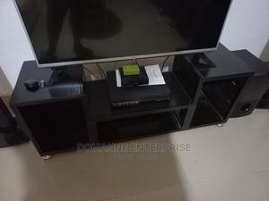 Black Television Stand. Tv Stand | Furniture for sale in Lagos State, Ifako-Ijaiye