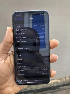 Apple iPhone 11 Pro 64 GB Gold   Mobile Phones for sale in Enugu State, Enugu