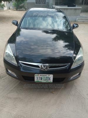 Honda Accord 2007 2.4 Exec Automatic Black | Cars for sale in Borno State, Maiduguri