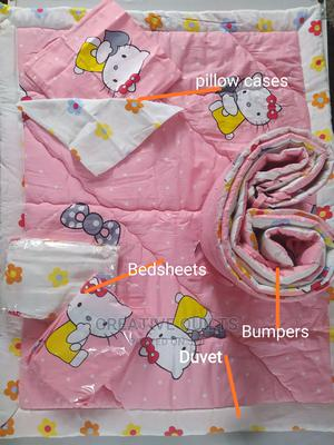 8pcs Baby Bedding Set ( Helllo Kitty) | Children's Furniture for sale in Lagos State, Ikeja