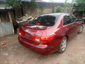 Honda Accord 2004 Red | Cars for sale in Lagos State, Abule Egba