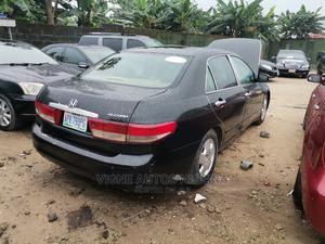 Honda Accord 2003 2.4 Automatic Black | Cars for sale in Akwa Ibom State, Uyo