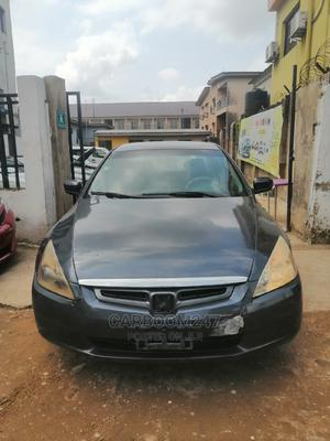 Honda Accord 2005 Sedan EX Automatic Gray   Cars for sale in Lagos State, Ogba