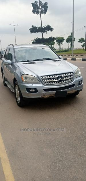 Mercedes-Benz M Class 2008 ML 350 4Matic Blue   Cars for sale in Lagos State, Ikeja