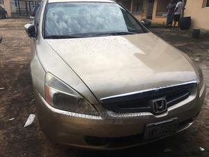 Honda Accord 2005 Sedan EX Automatic Gold   Cars for sale in Anambra State, Orumba