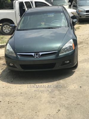 Honda Accord 2005 Sedan EX Automatic Green   Cars for sale in Lagos State, Yaba