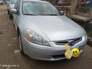 Honda Accord 2005 Sedan EX Automatic Silver   Cars for sale in Lagos State, Isolo